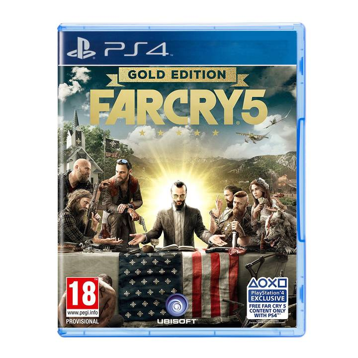 Far Cry 5 - Gold Edition, PS4 Alter: 18+