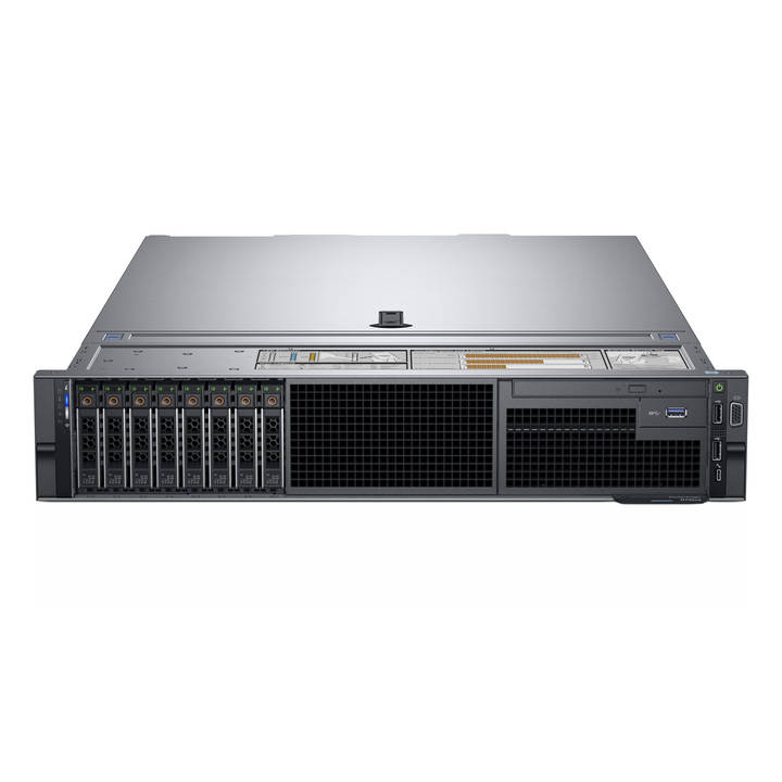 DELL EMC PowerEdge R740 - Montage en rack - Xeon Silver 4108 1.8 GHz - 16 Go - 300 Go
