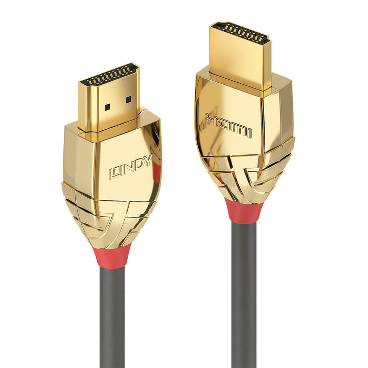 LINDY Gold Line HDMI con cavo Ethernet, 1 m