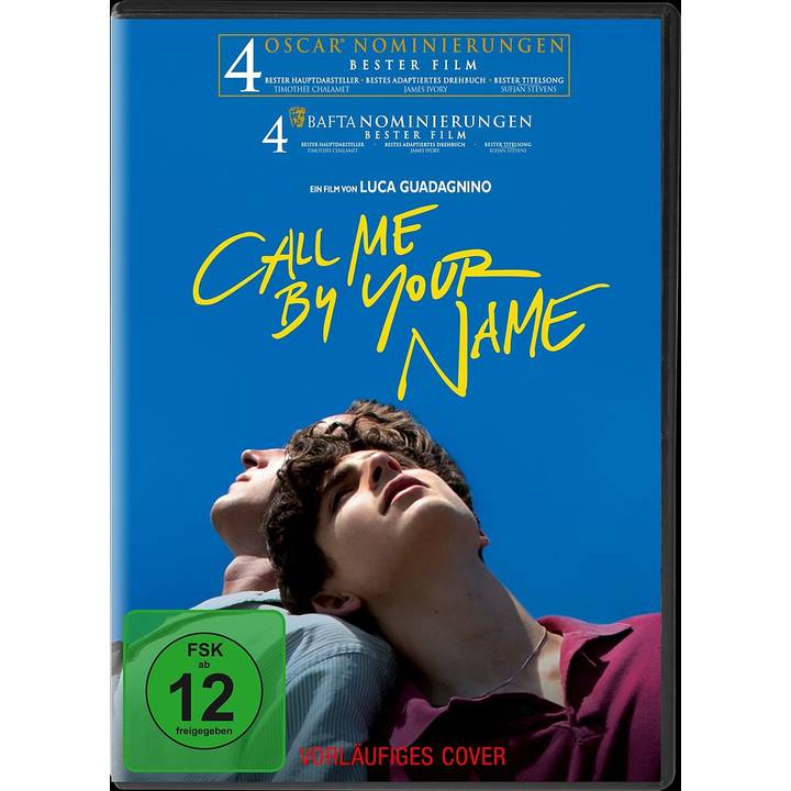Call me by your name (DE)