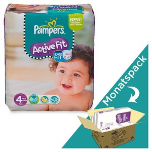 PAMPERS Windeln Active Fit Maxi Gr. 4