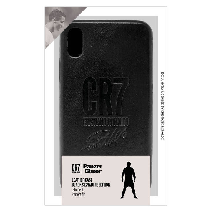 PANZERGLASS Backcover Leather CR7 für iPhone X