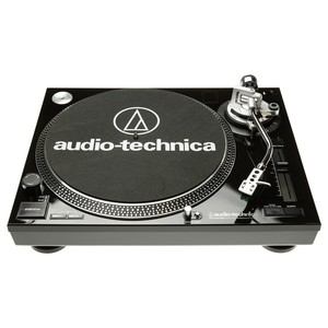 AUDIO-TECHNICA AT-LP120USBCBK Direct-Drive Audio Turntable