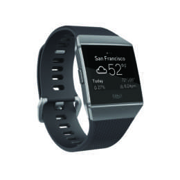 FITBIT GPS-Sportuhr Ionic Charcoal/Smoke Gray