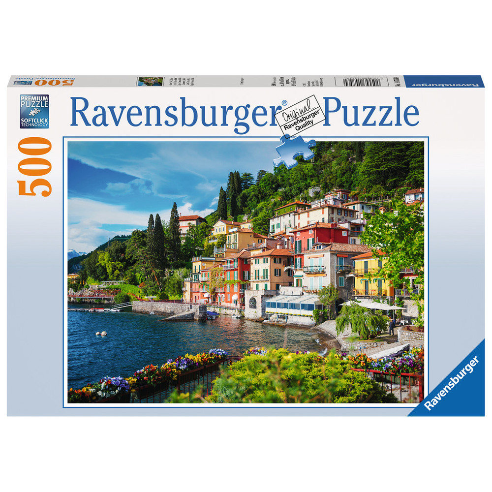 RAVENSBURGER Puzzle Comer See, Italien 500 Teile