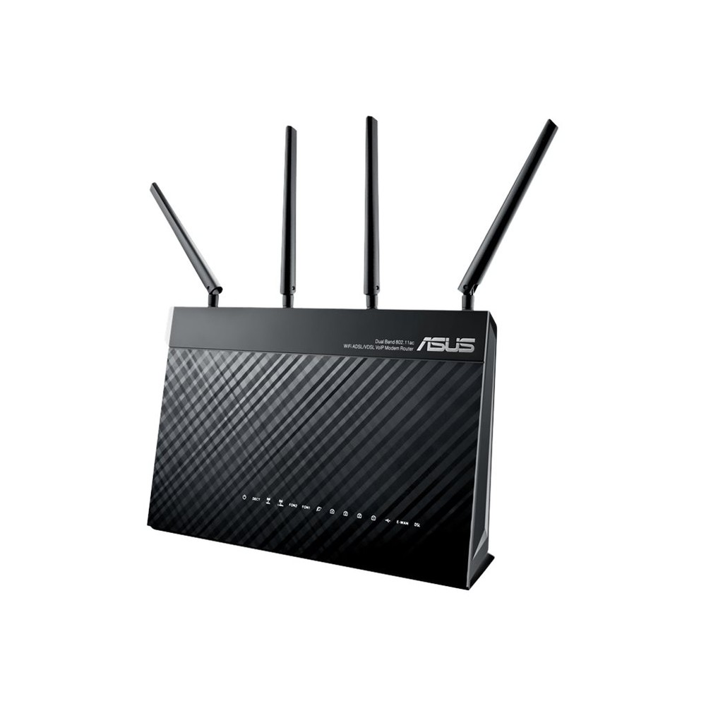 VOIP MODEM-ROUTER 2400 MBIT/S IN