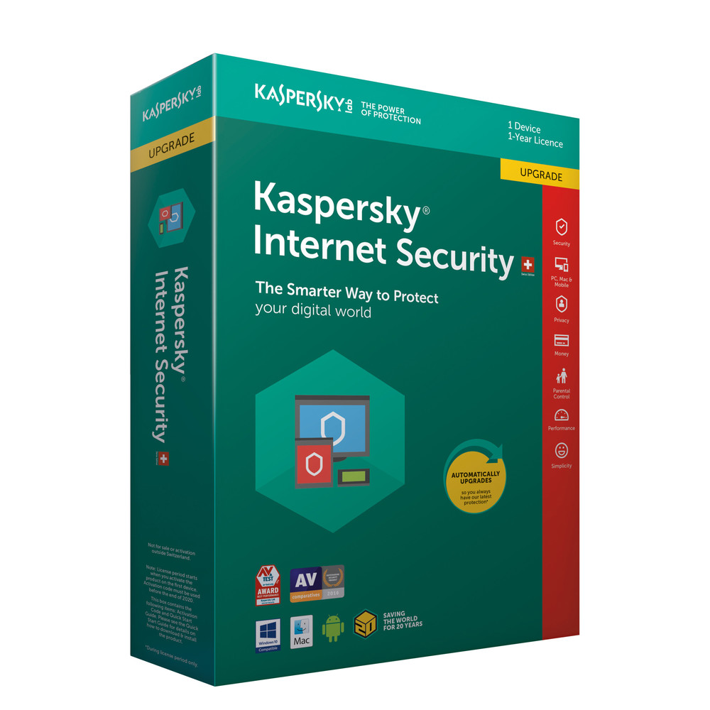 KASPERSKY Internet Security Swiss Edition UPG