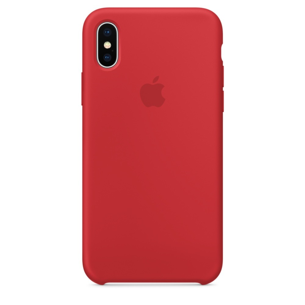 APPLE iPhone X Silikon Case (PRODUCT)RED
