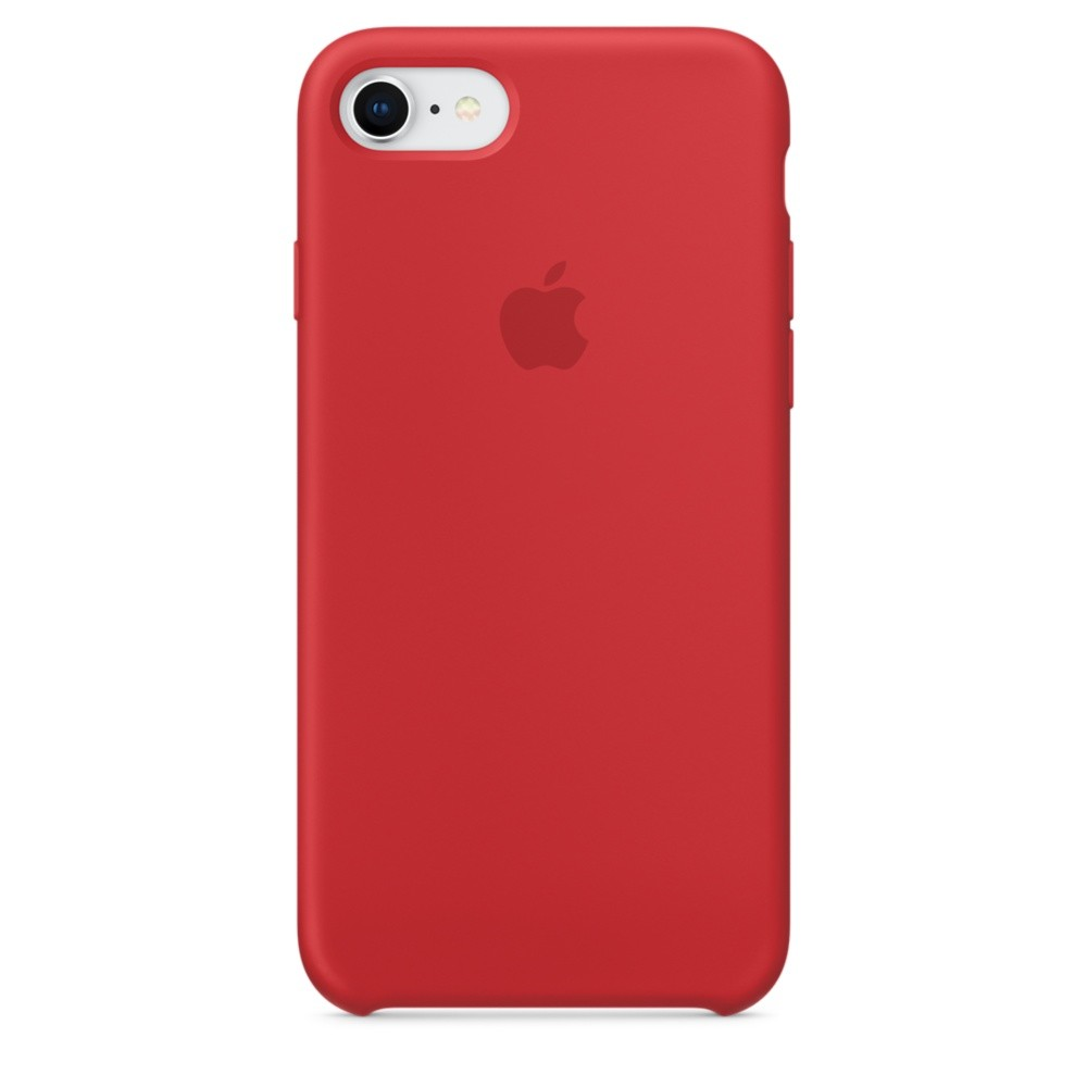 APPLE iPhone 8 / 7 Silikon Case (PRODUCT)RED
