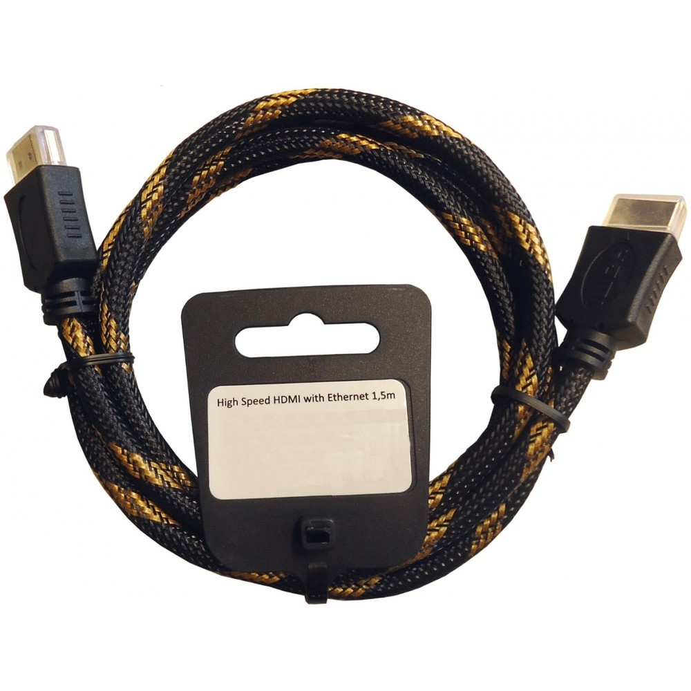 EAGLE CABLE High-Speed-HDMI-Kabel 2.0 1.5m
