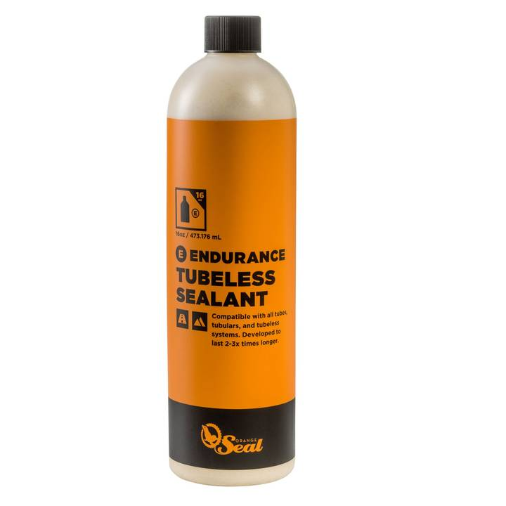ORANGE SEAL Tubeless-Milch Naturlatex-Dichtmilch ENDURANCE, 0.48 l