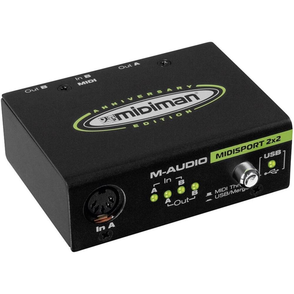 M-Audio MidiSport 2x2 2x2 USB MIDI Inter