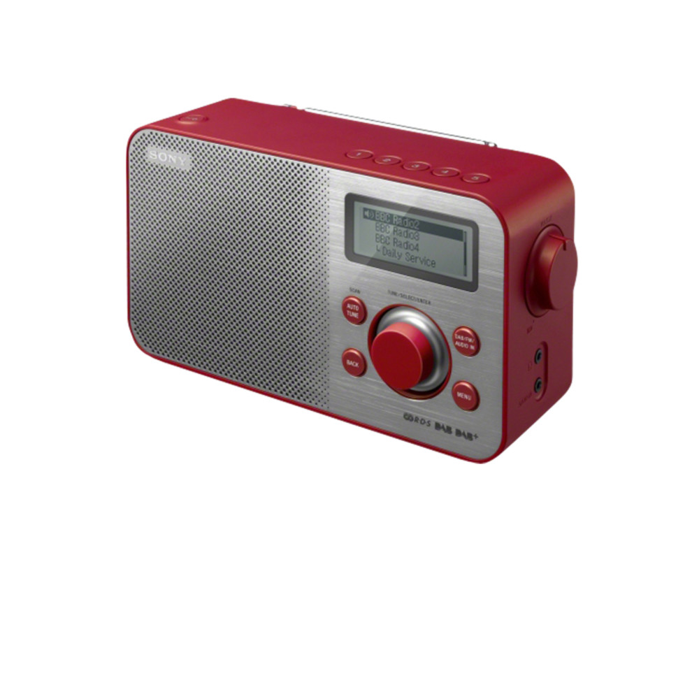 SONY Digitalradio XDR-S60DBP Red