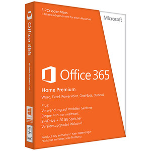 MICROSOFT Office 365 Home Abo DE