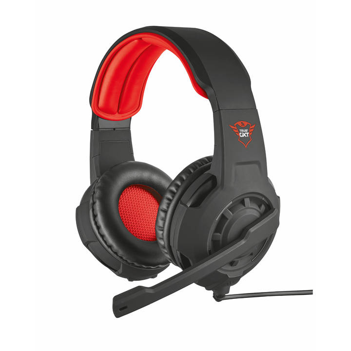 TRUST On-Ear Headset GXT 310 Gaming Black