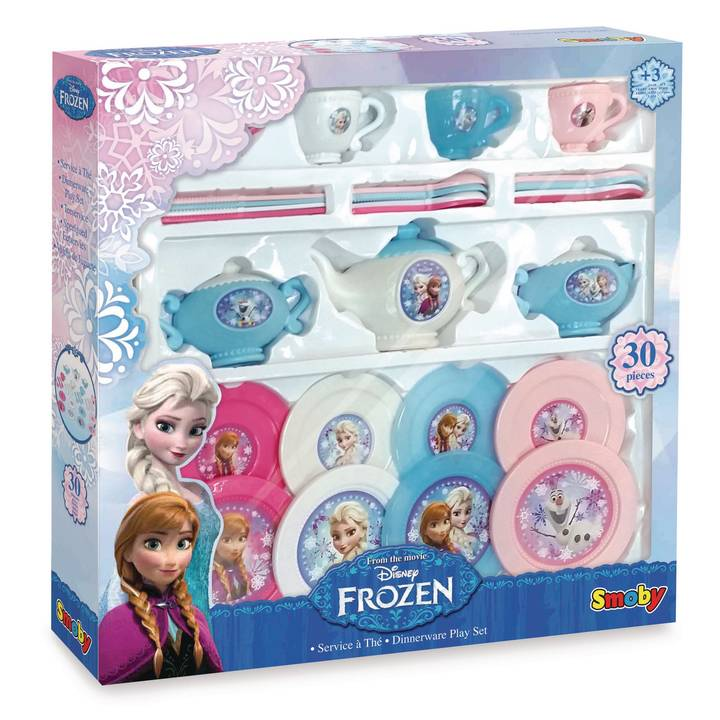 SMOBY INTERACTIVE Geschirr Frozen Tee-Set
