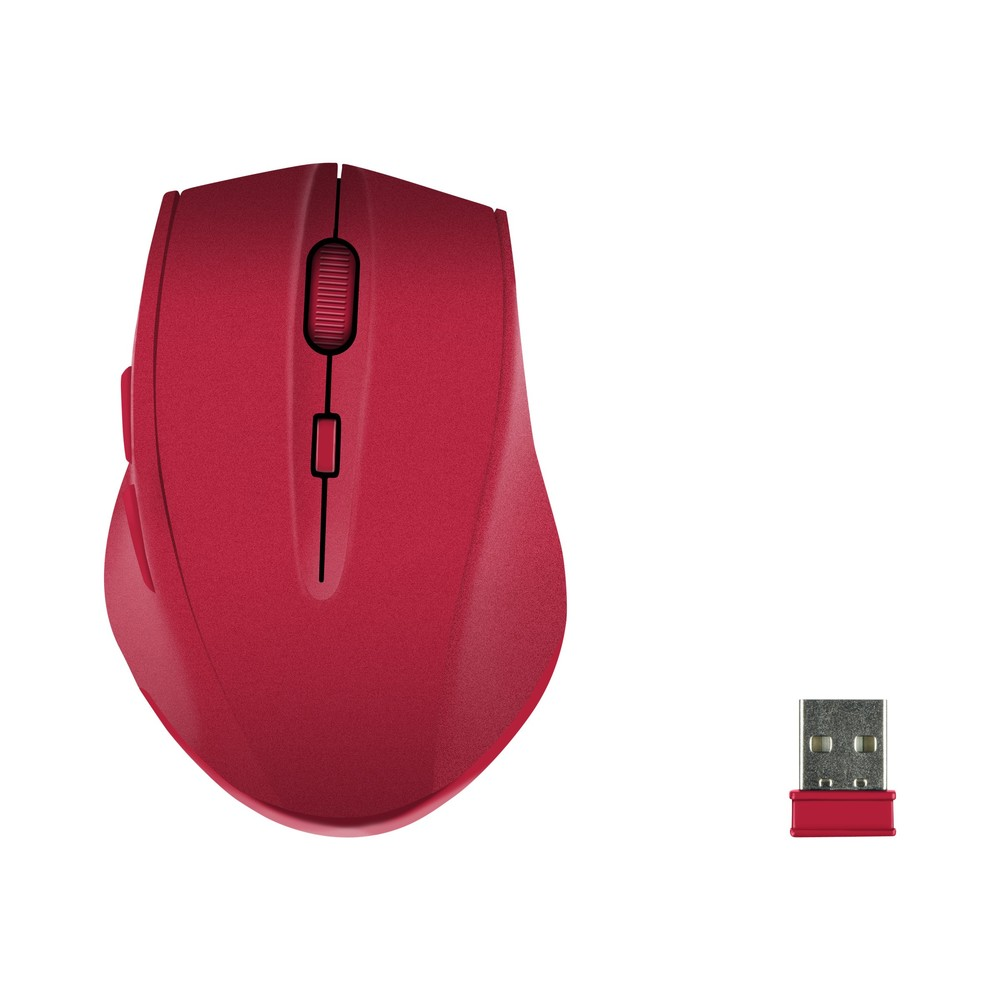 Speedlink Calado Silent Mouse rubber-red
