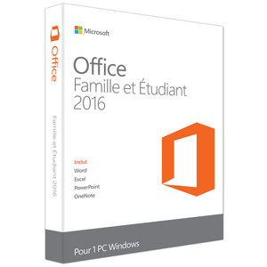 MICROSOFT Office Home and Student 2016 Box Pack