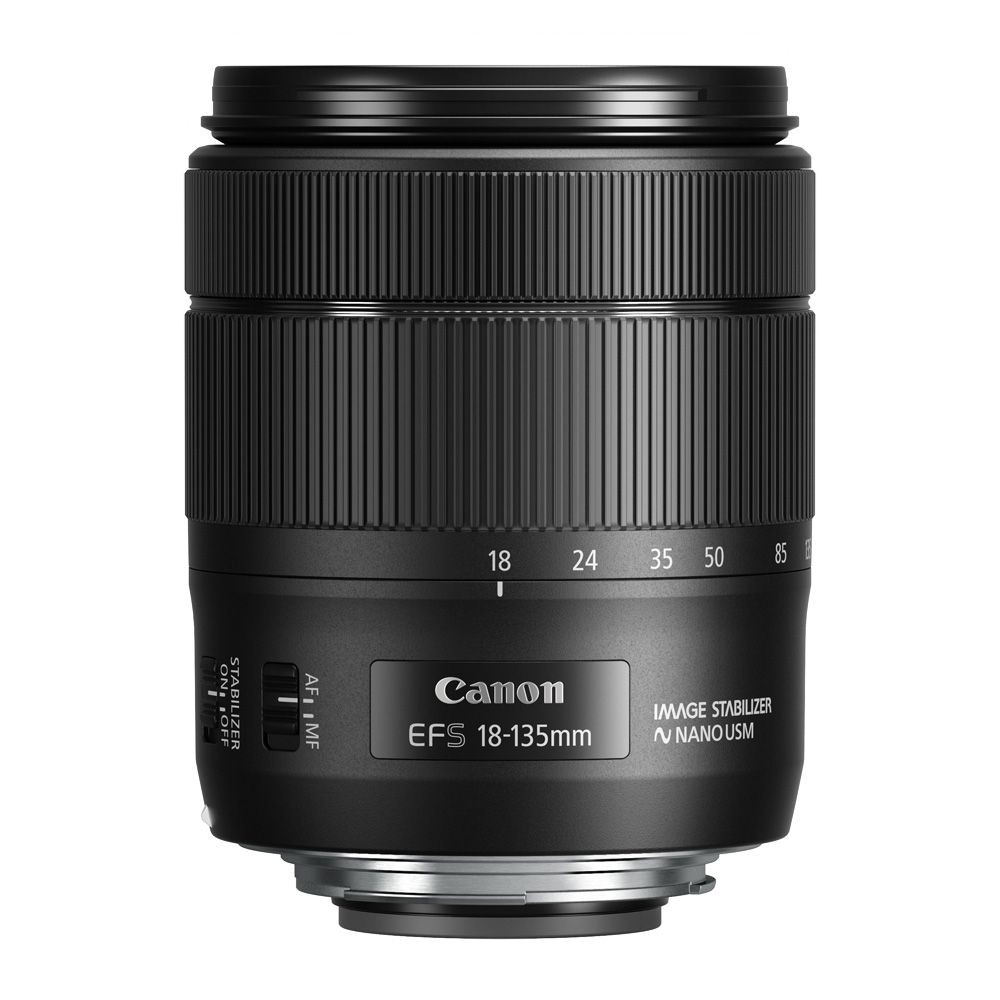 CANON EF-S 18 - 135mm f/3.5 - 5.6 IS USM