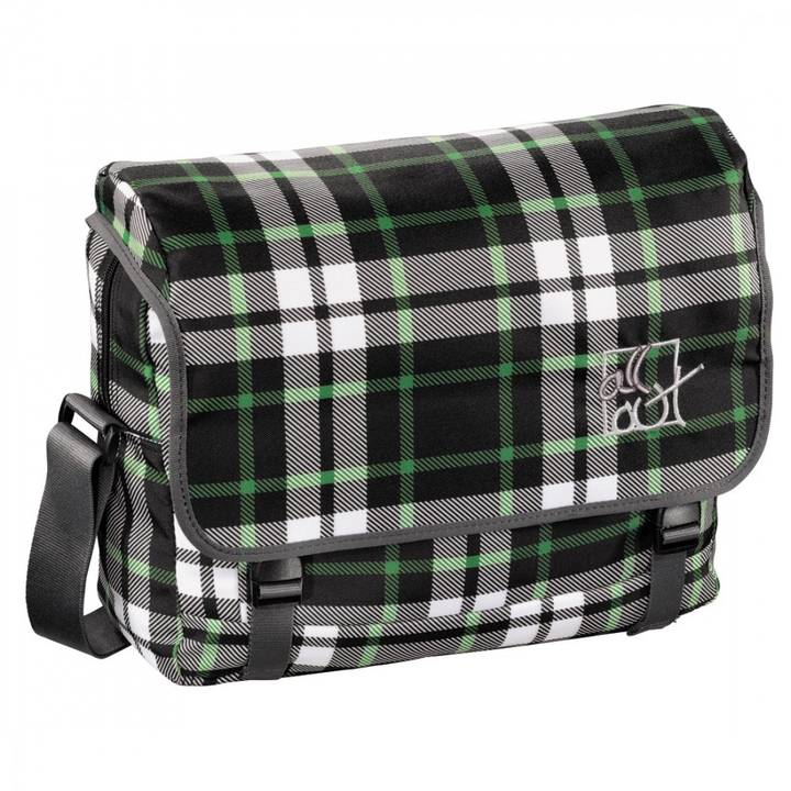 ALL OUT Schultertasche Barnsley Forest Check
