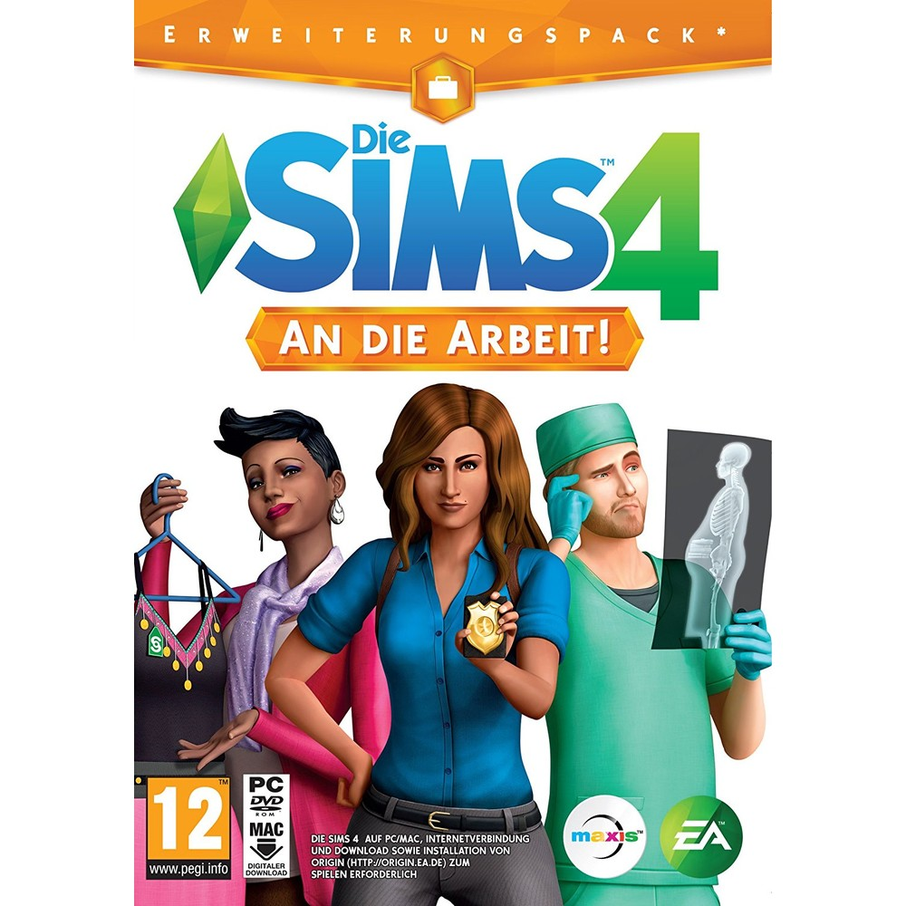 EA The Sims 4 Get to Work PC (DE) (FR) (