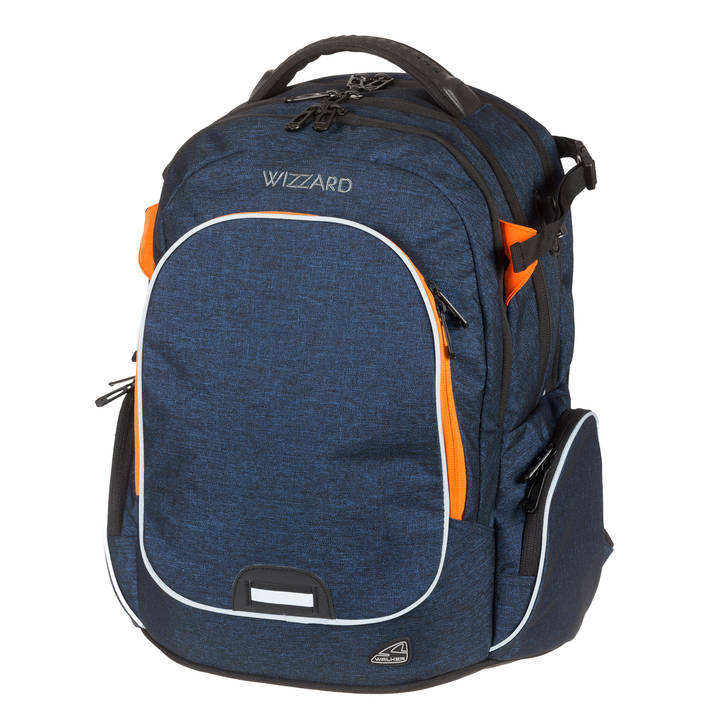 Sac à dos WALKER Campus Wizzard Dark Blue Melange