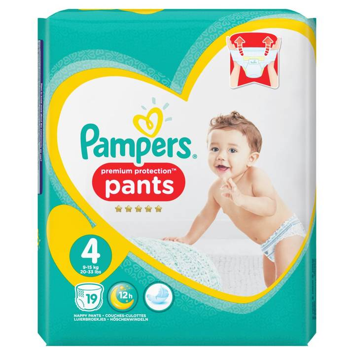 Pampers Premium Protection Pants Gr.4 Ma