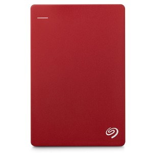 SEAGATE Backup Plus Slim, 2TB Red