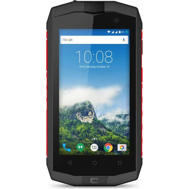 CROSSCALL Trekker-M1 Core, 16 GB, Dual-SIM, Gray/Red