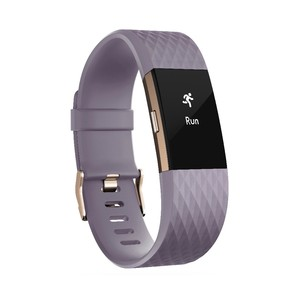 FITBIT Charge 2 Heart Rate Lavender Rose Gold Small