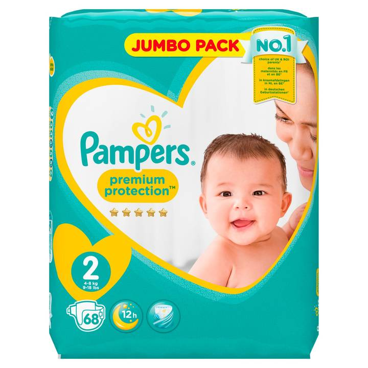 Pampers Premium Protection NewBabyGr.2Mi