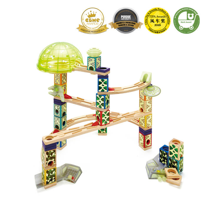 Hape Kugelbahn Quadrille Space Alter: 6+