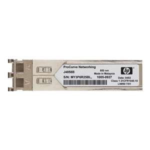 HP SFP (Mini-GBIC) Transceiver-Modul Gigabit Ethernet 1000Base-SX, Silver