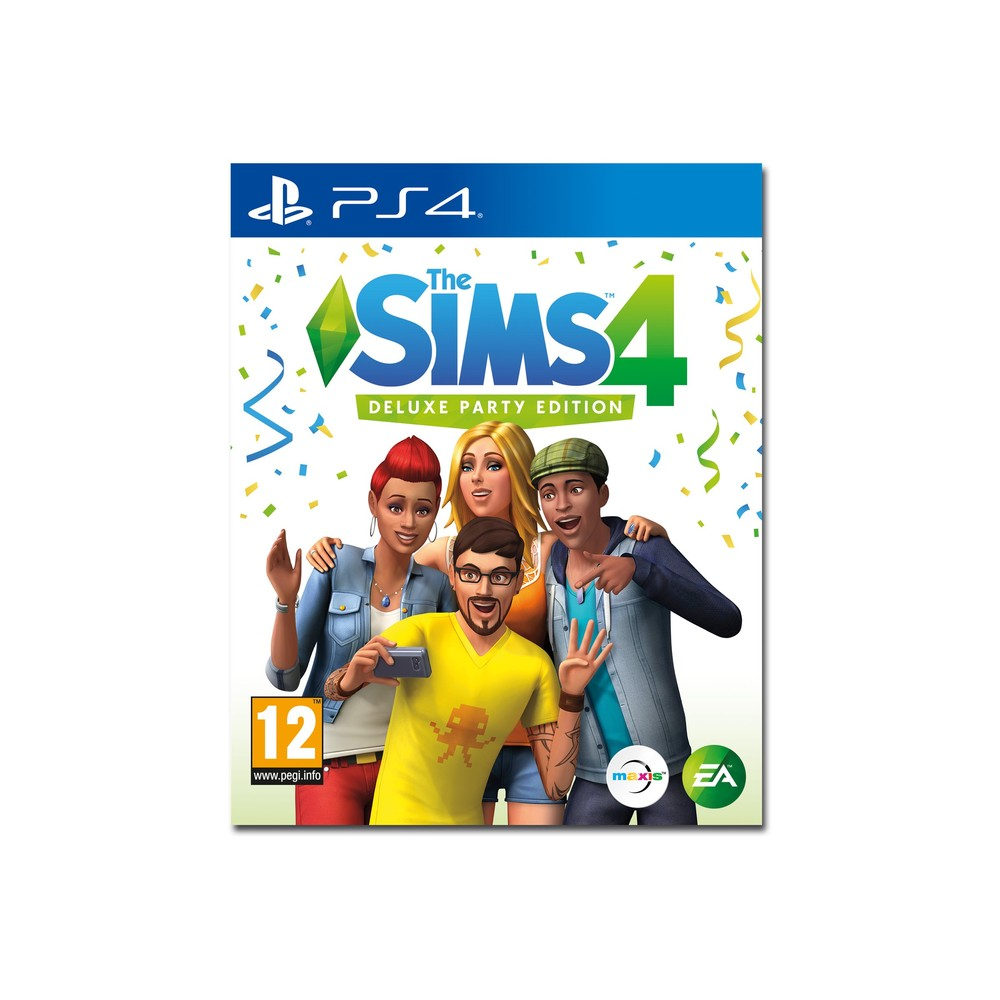 EA The Sims 4 Deluxe Party Edition PS4 M