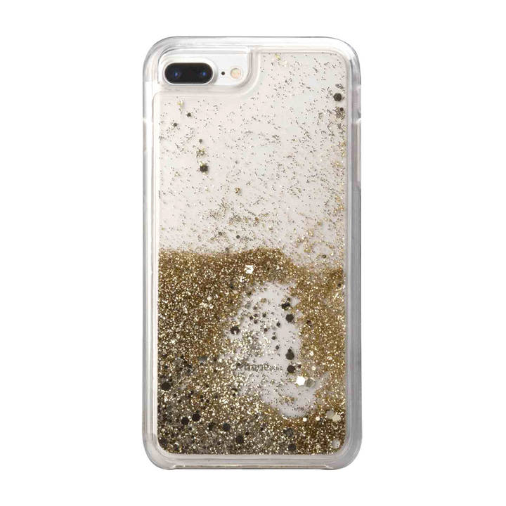 SBS Gold-Cover für iPhone 8 Plus/7 Plus/6s Plus/6 Plus Clear