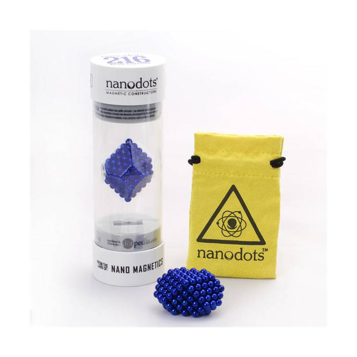 NANODOTS Building Kit BLUE Edition BLEU 216 balles