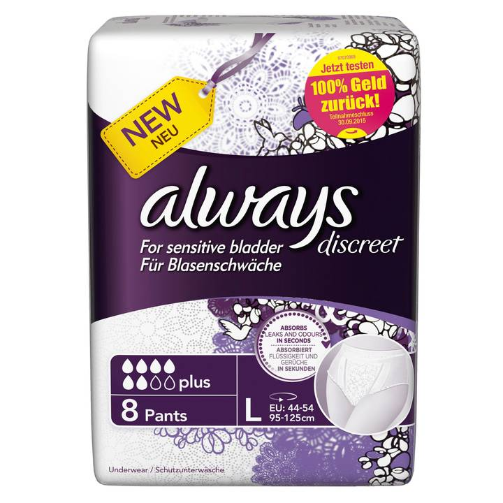 always Discreet Inkontinenz Pants Large