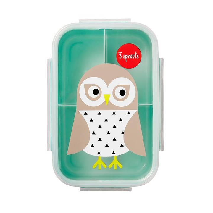 3 SPROUTS Eule Bento Lunchbox