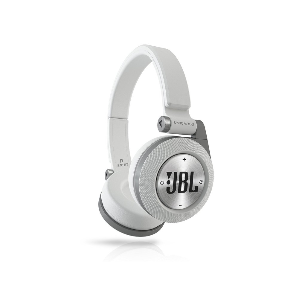 JBL On-Ear Kopfhörer Synchros E40BT White