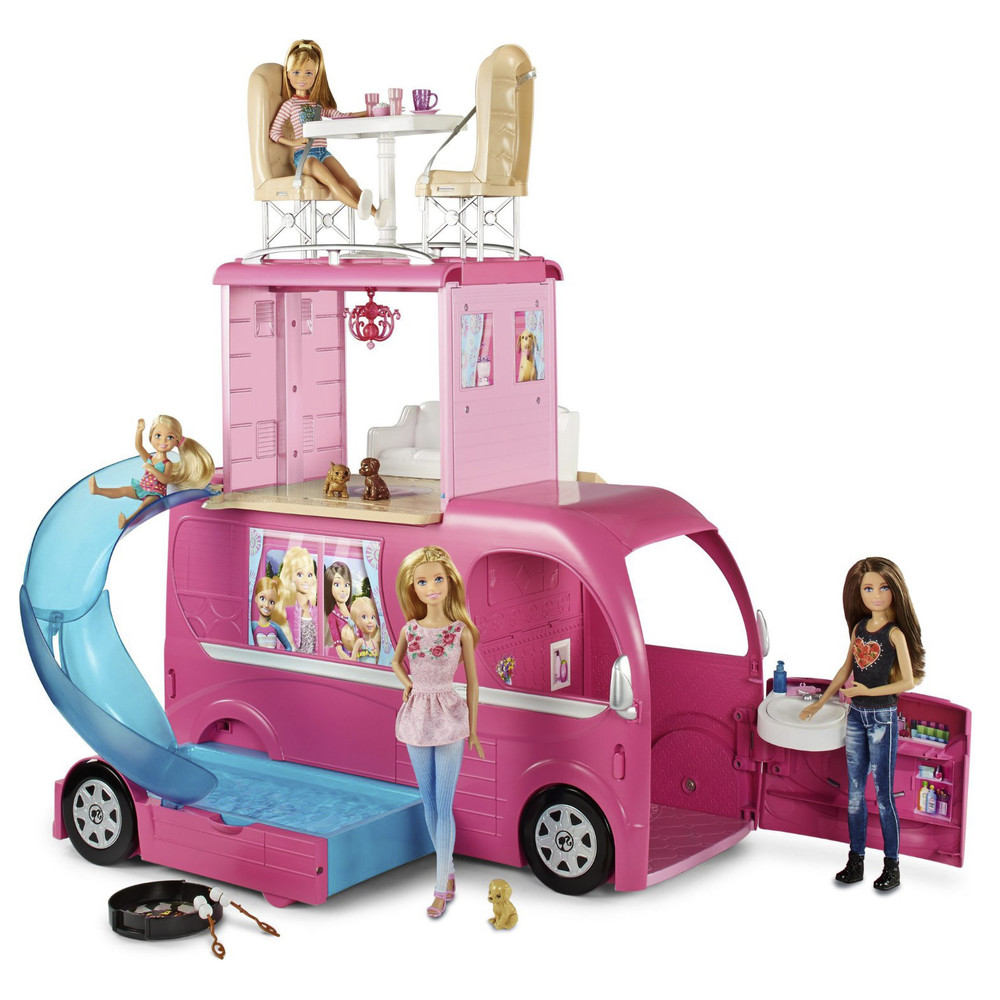 MATTEL Barbie Super Feriencamper