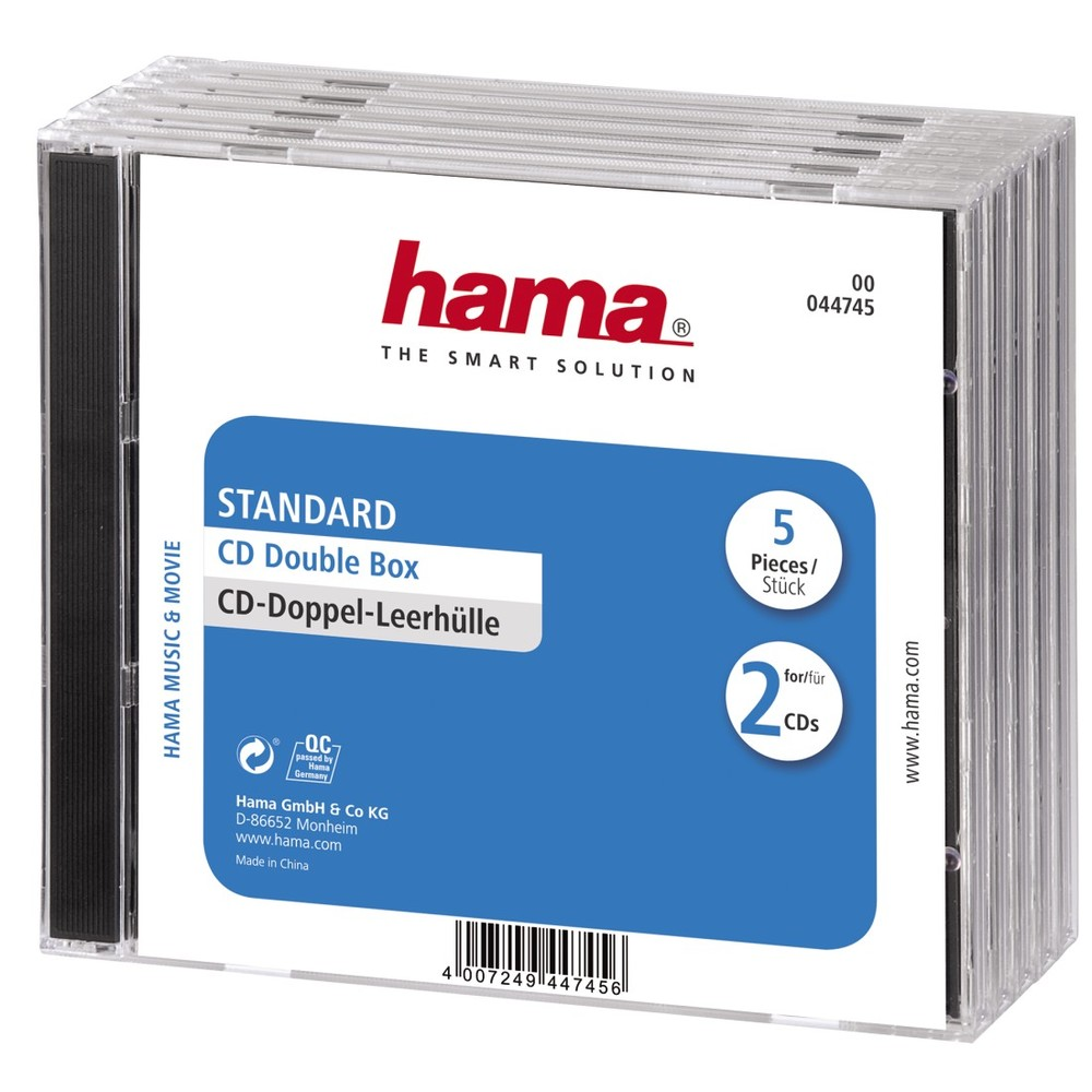HAMA CD Double Case