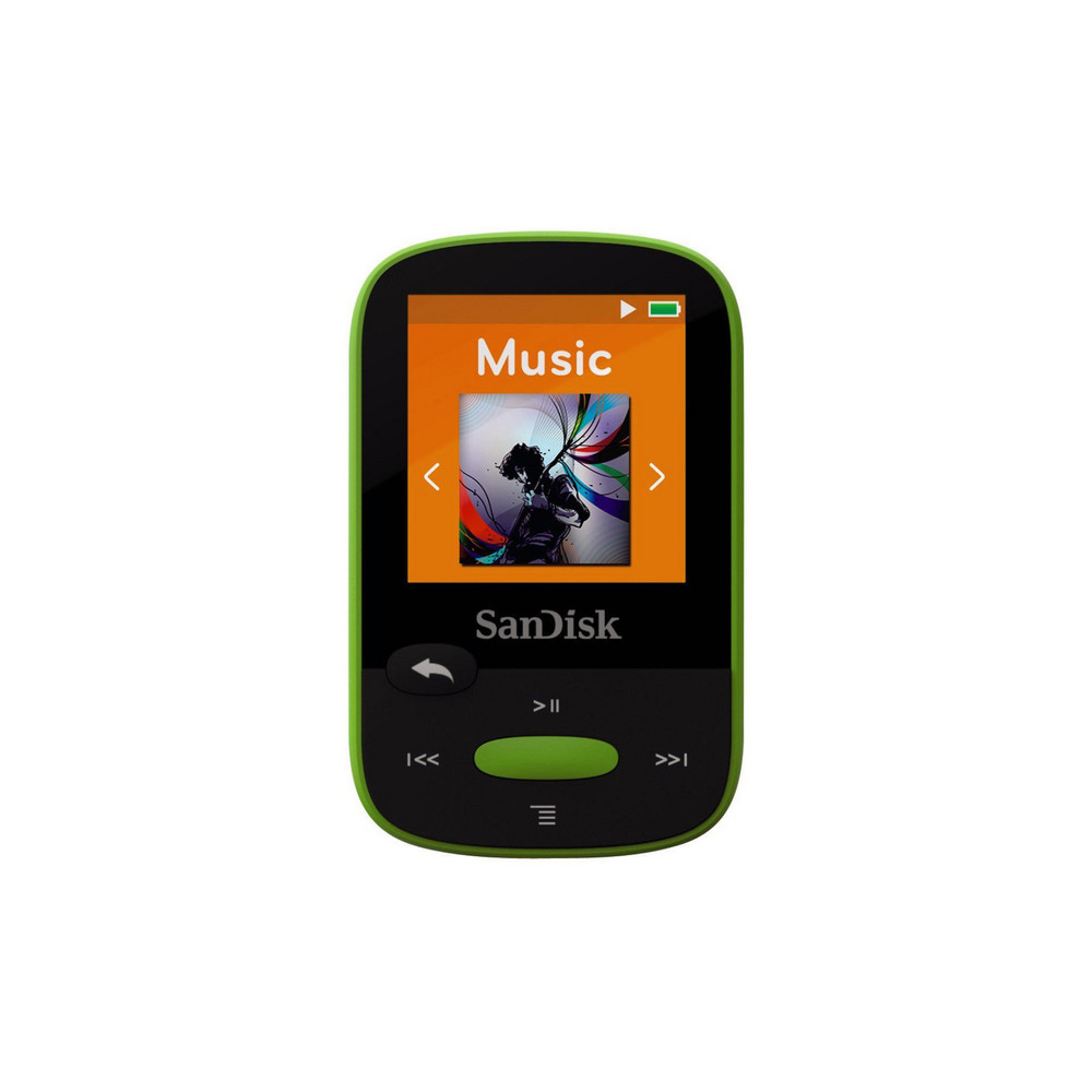 SANDISK MP3-Player Clip Sport 8GB Lime