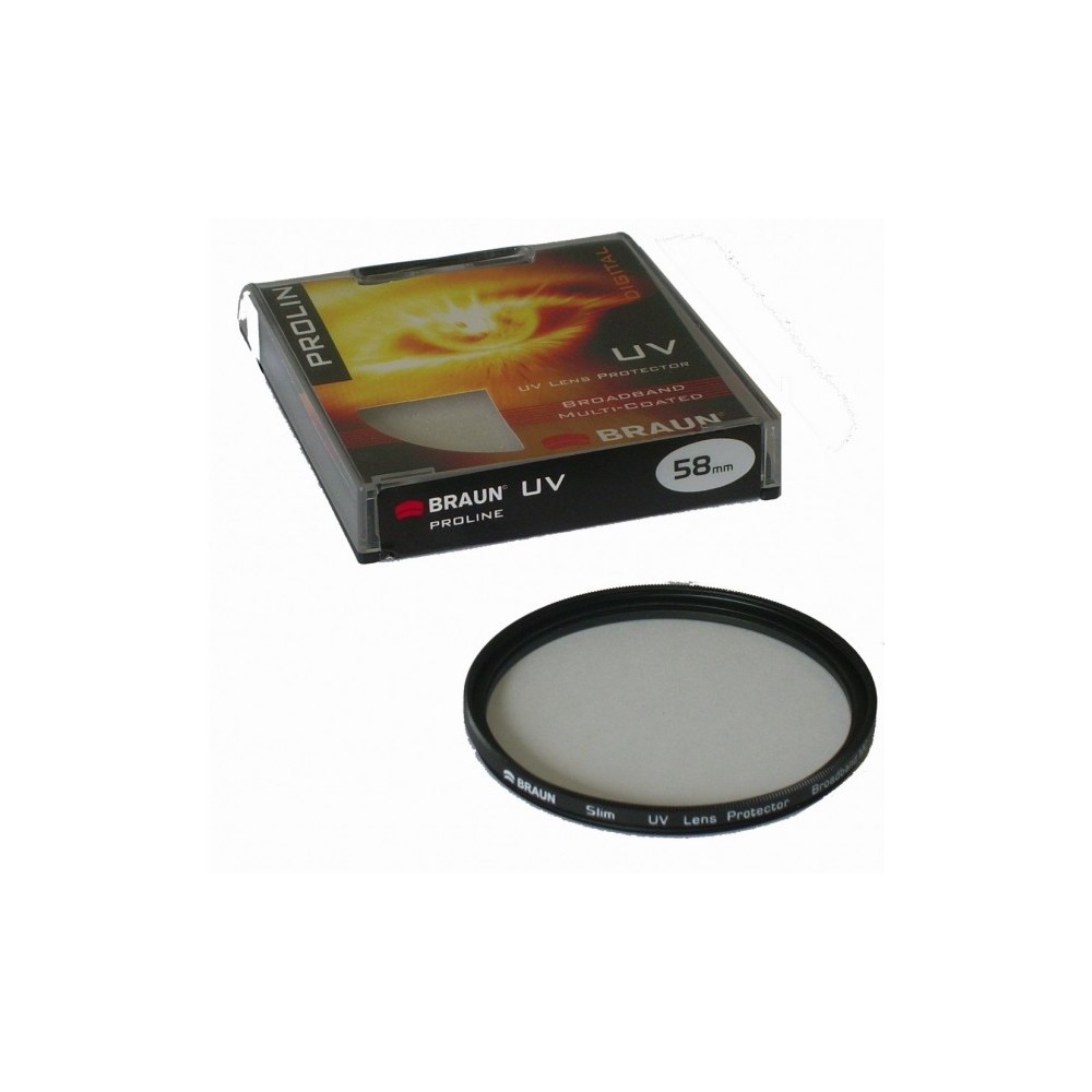 BRAUN UV-Filter Proline, 77 mm