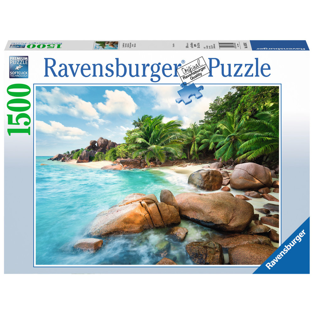 RAVENSBURGER Puzzle Traumhafter Strand 1500 Teile