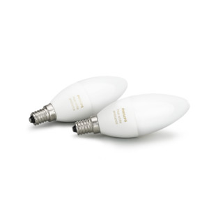 PHILIPS Hue Doppelpack White Ambiance 6W E14