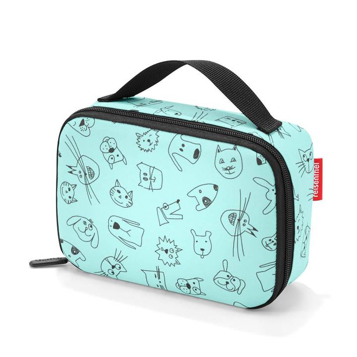 REISENTHEL Lunchbox Thermocase Kids Cats and Dogs Mint