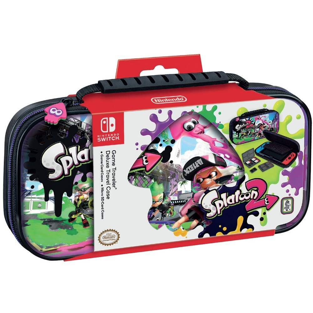 NINTENDO Switch Deluxe Travel Case Splatoon 2