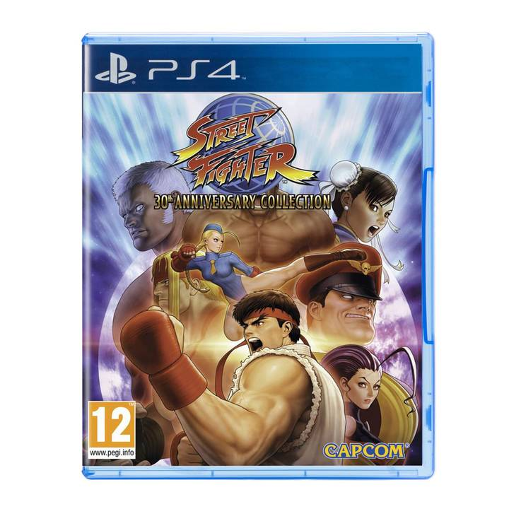 Street Fighter 30th Anniversary, PS4 Alt