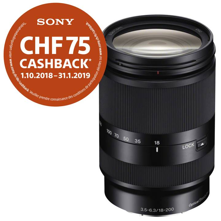 SONY AF E 18-200 mm F/3.5-6.3 OSS LE