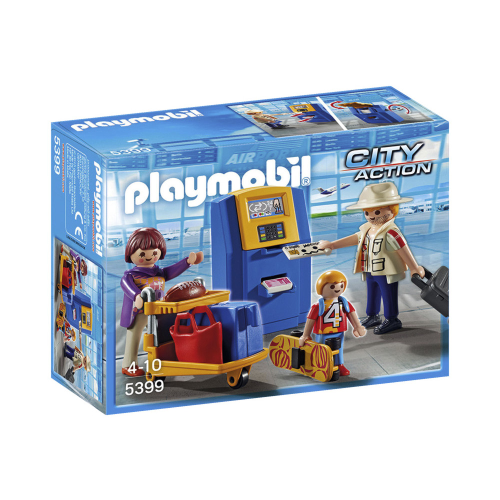 PLAYMOBIL Familie am Check-in Automat (5399)